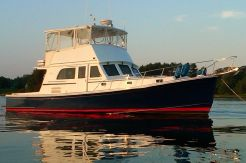 1998 Duffy 42 Flybridge Cruiser (finished and launched in 1999)