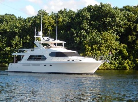 2008 Ocean Alexander 64 Pilothouse - Profile