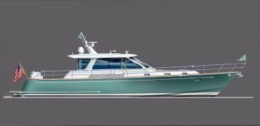 2021 Lyman-Morse Jet Boat Express/Flybridge