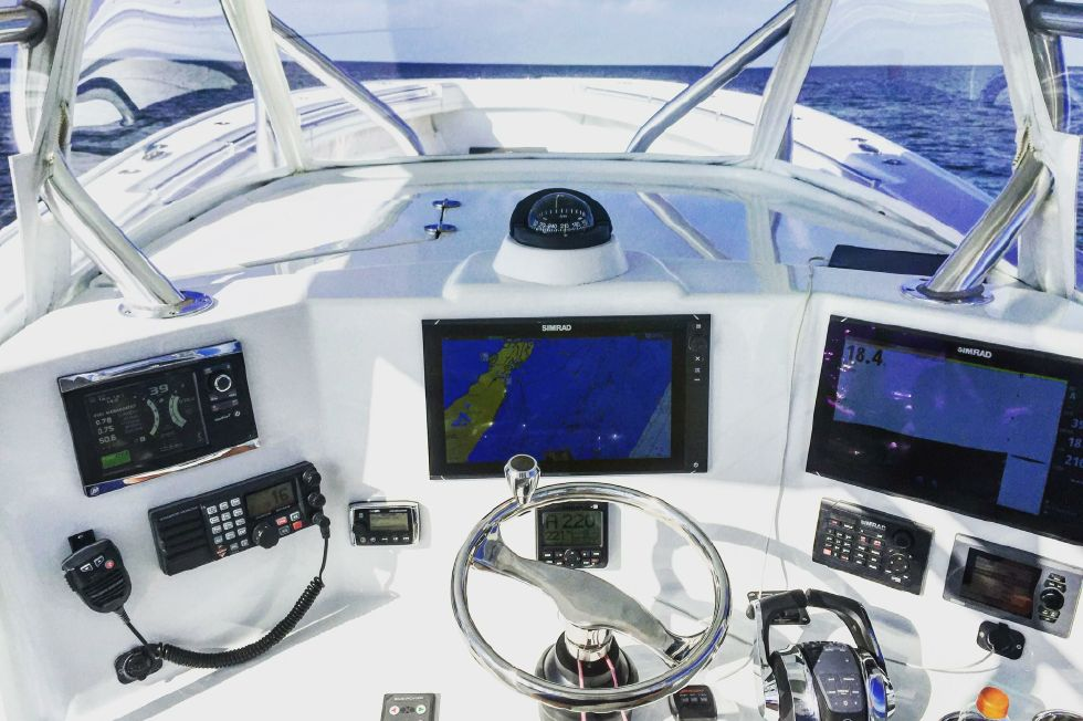 2015 Yellowfin Center Console
