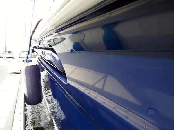 Polished Blue Hull