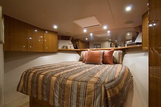 2008 Viking Enclosed - Forward VIP Stateroom