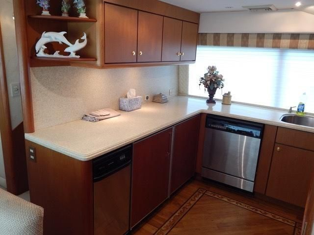 Galley Counter Refrigeration/Beautiful Flooring