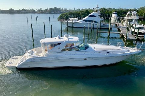2002 Sea Ray 580 Super Sun Sport - Sea Ray 580 SS 2002