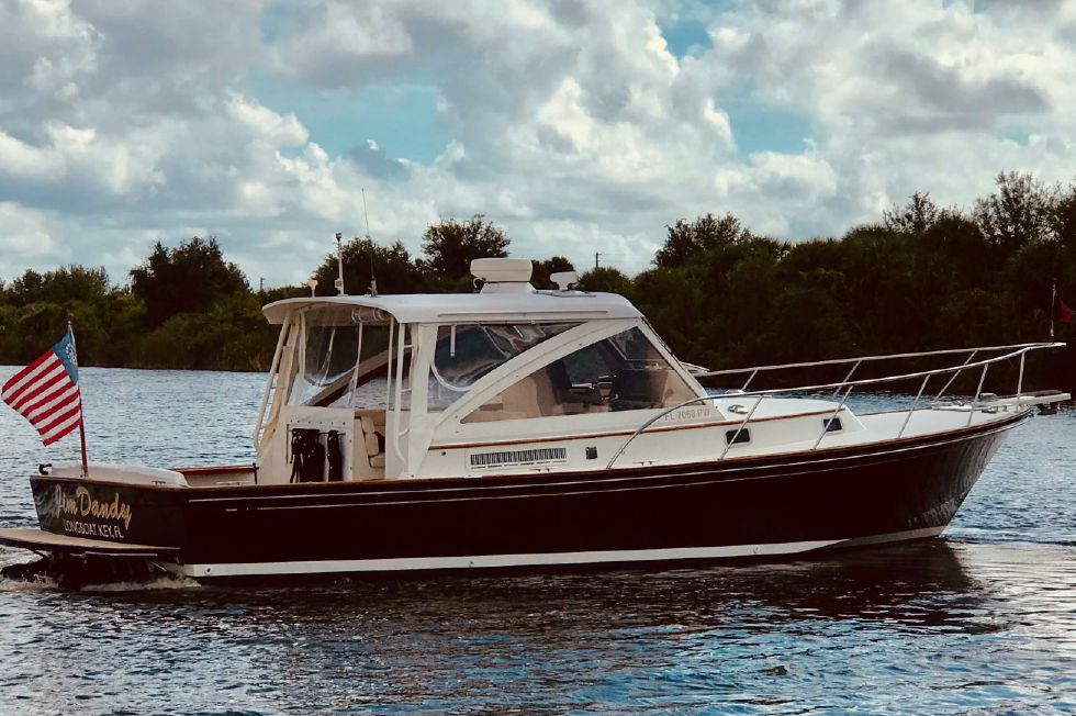 2002 Little Harbor Hinckley 36 Express