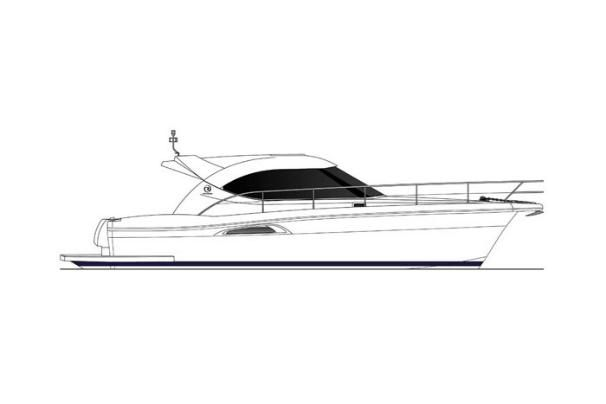 2007 Riviera 3600 Sport Yacht - Manufacturer Provided Image: Profile