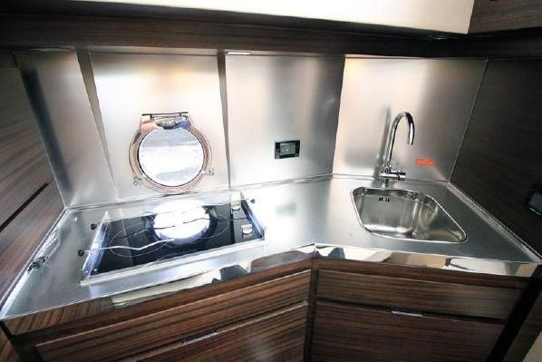 2012 Azimut 40S - Galley View II