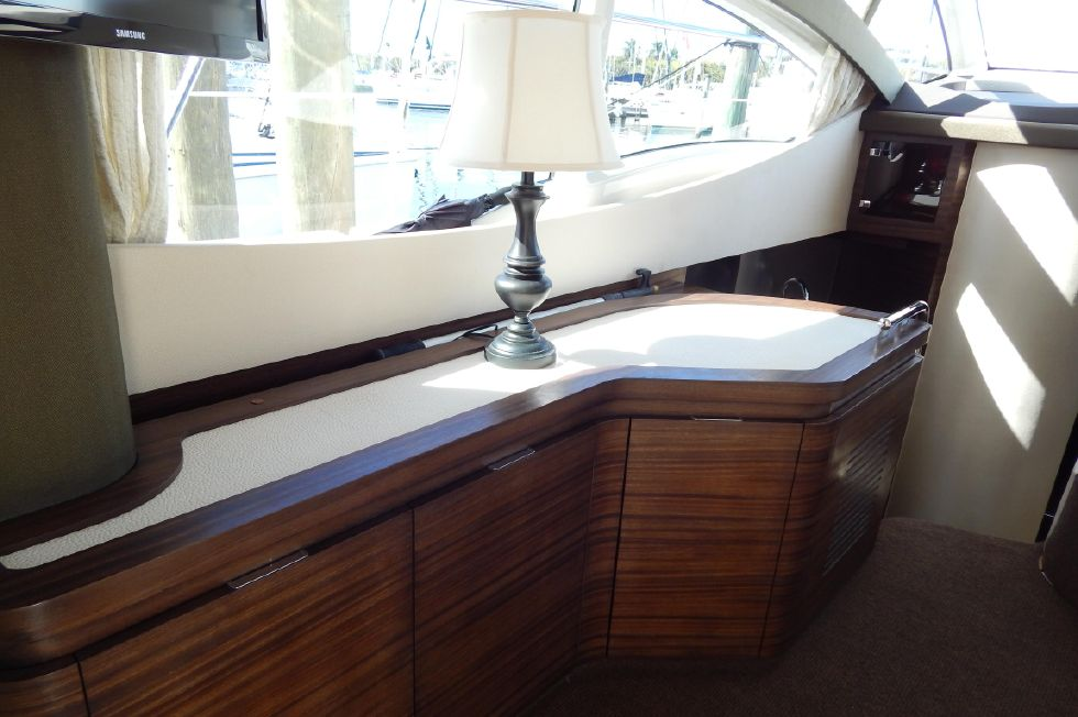 2012 Azimut 40S - Port Side Storage