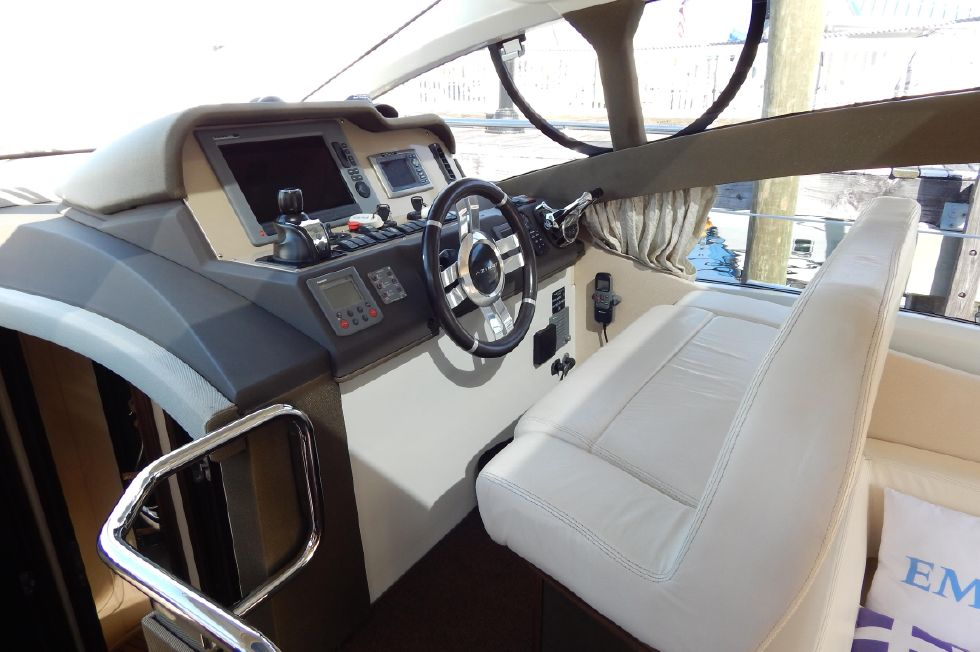 2012 Azimut 40S - Helm View and Captains Chair
