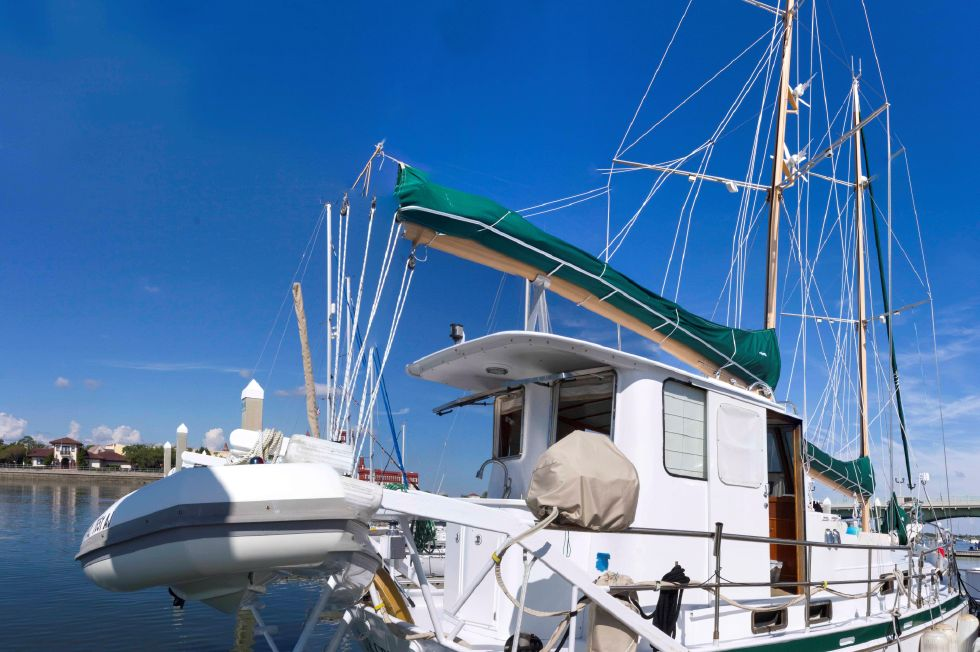 1988 Custom Steel George Sutton 65-foot Luxury Schooner