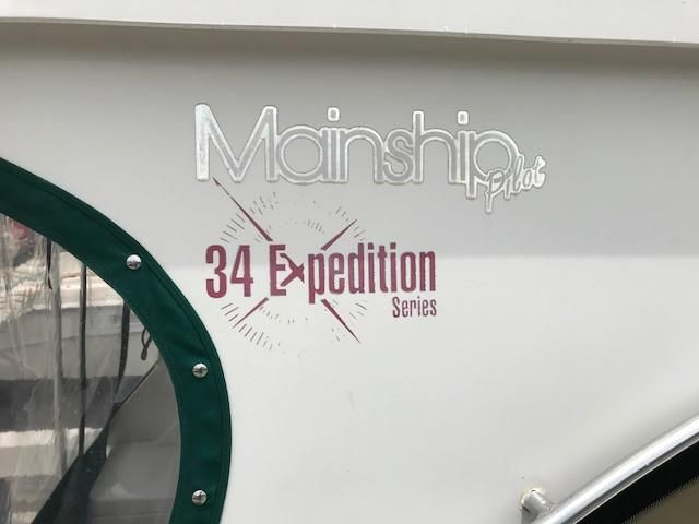 Mainship 34 Pilot 34 Expedition Series Logo