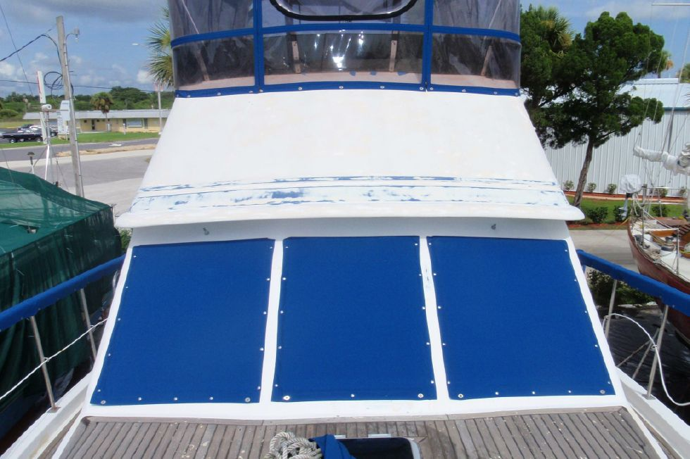 1983 Marine Trader Labelle - Bow Looking Aft