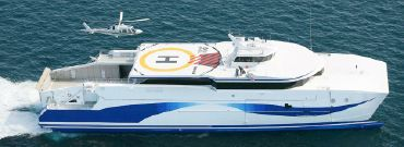 2008 Custom Ultra Fast ROPAX Catamaran Ferry