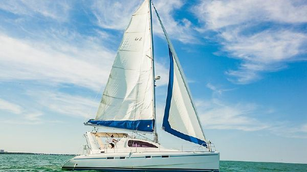 Leopard Leopard 42 CALYPSO_Leopard 42_catamaran for sale_just catamarans_side