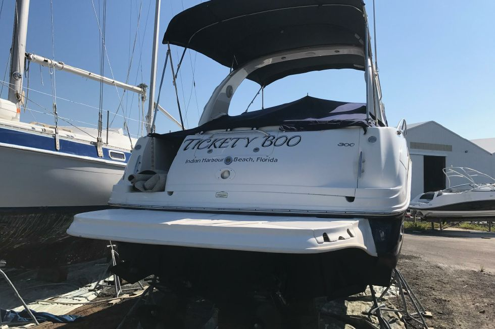 Sea Ray 300 Sundancer Transom
