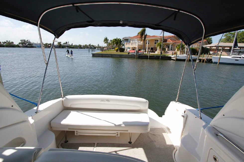 Sea Ray 300 Sundancer Bimini