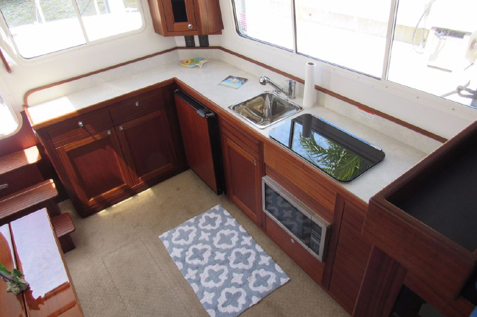 2014 Nordic Tugs 34 - Galley view from Helm