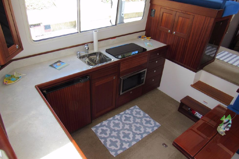 Galley from Cockpit