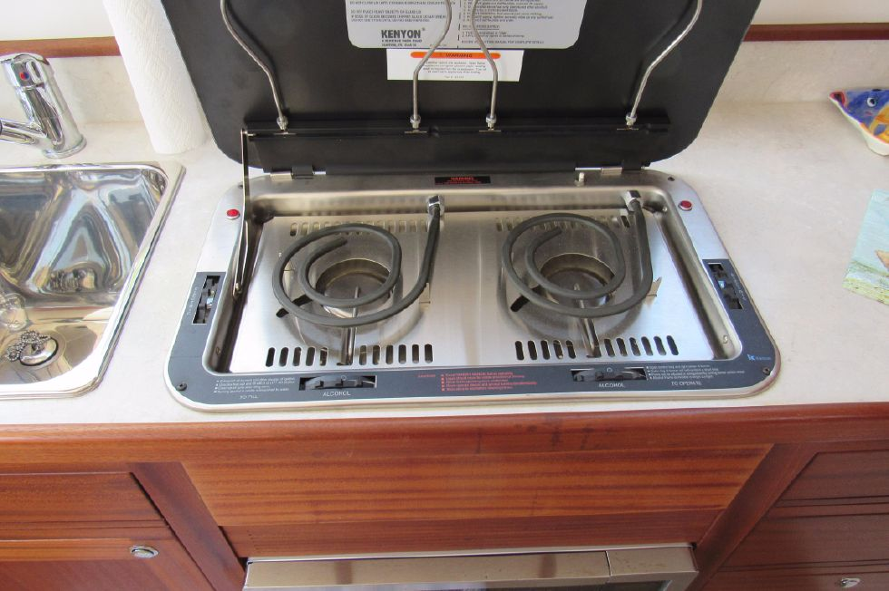 2014 Nordic Tugs 34 - Electric/Alcohol Cook Top