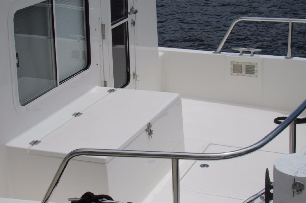 2014 Nordic Tugs 34 - Spacious Cockpit