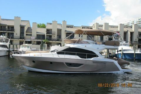 2013 Sessa Marine 45 Flybridge - Profile