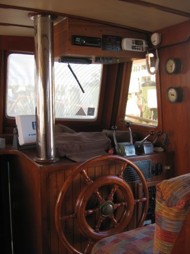 1984 Marine Trader 44' Three Stateroom Sundeck - Lower Helm