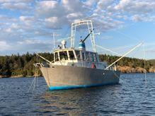 1990 Ted Brewer Custom 41 Trawler