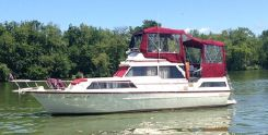 1983 Marinette 39 Double Cabin Flybridge