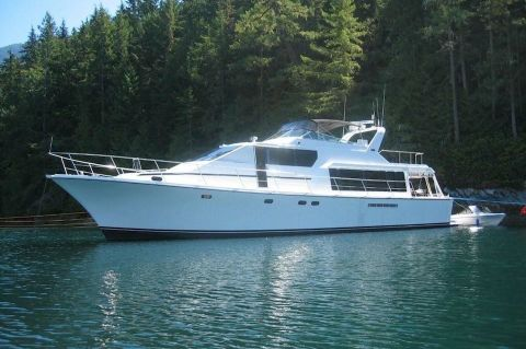 1998 Pacific Mariner Motor Yacht - Profile