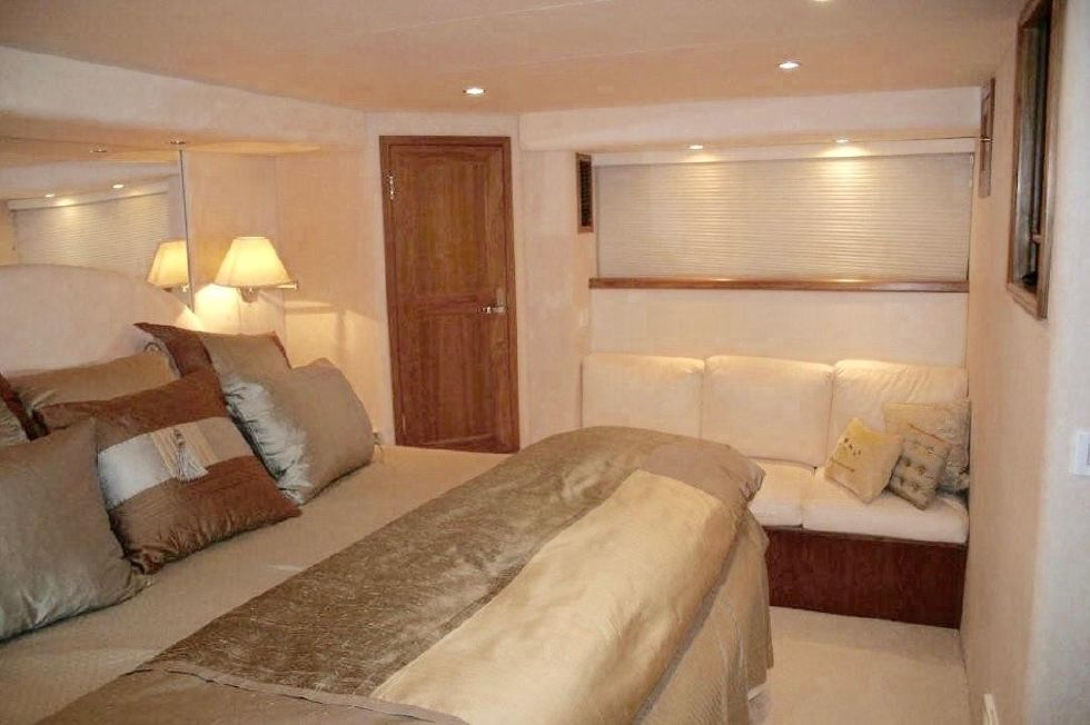 1998 Pacific Mariner Motor Yacht - Master Stateroom I