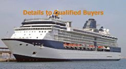 2001 Cruise Ship - 2158/2450 Passengers - Stock No. S2349