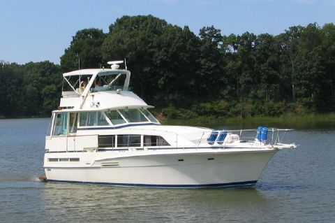 1981 Bertram 46 Flybridge Motor Yacht - Bay B Ruth 46' Bertram 1981
