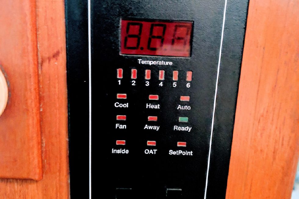 Digital AC control in Galley