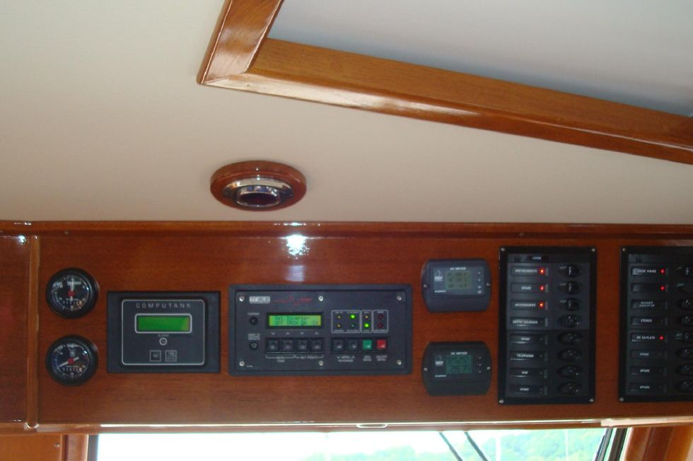 Overhead at the Helm