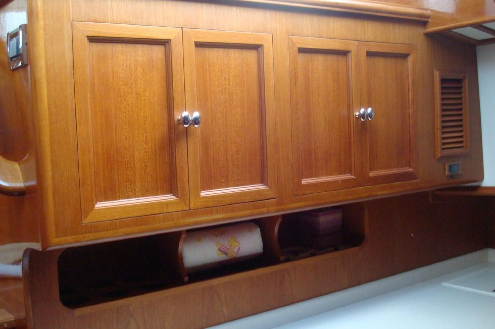 Upper Aft Galley Cabinets