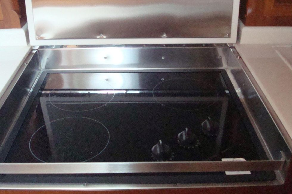 Smooth Top Galley Stove