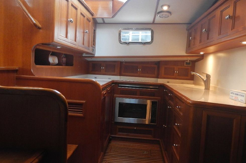 Galley from Lower Settee