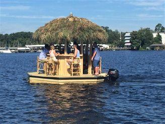 2016 Custom Cruisin' Tiki Boat