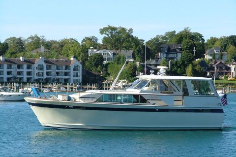 1973 Chris-Craft 47 Commander - Profile