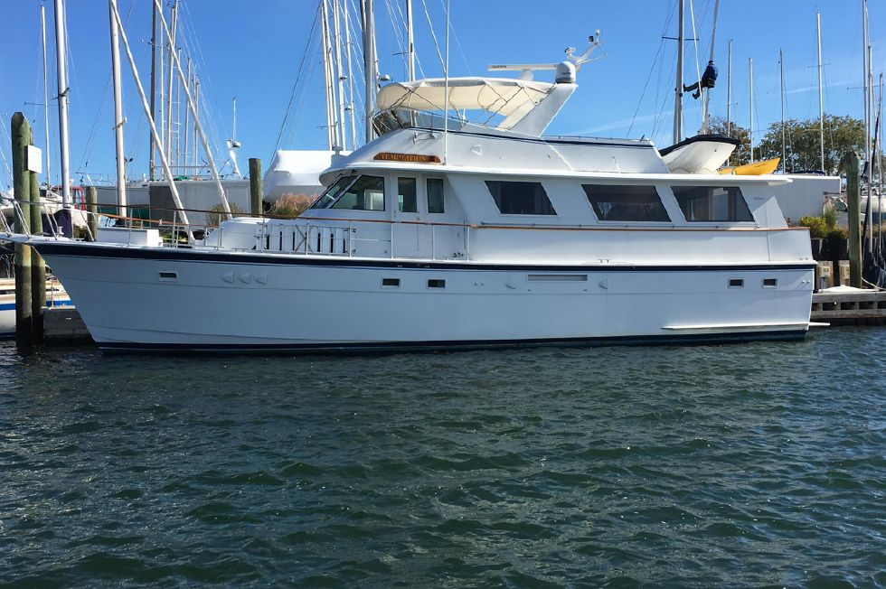 1981 hatteras 61 motor yacht boats for sale dimillo 39 s for Hatteras motor yacht for sale