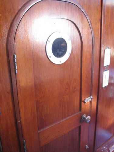 Engine room door