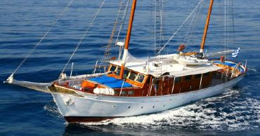 1970 Traditional Greek M/s Wooden Motor Sailer