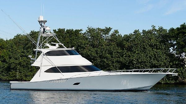 Viking 76 Enclosed Bridge Gray Ghost