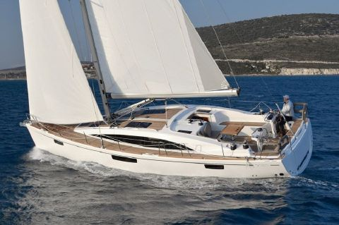 2019 Bavaria Vision 46 - Manufacturer Provided Image: Bavaria Vision 46 Sailing