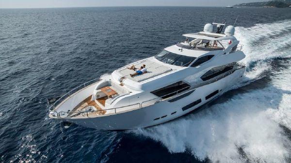 Sunseeker 95 Yacht Manufacturer Provided Image: Sunseeker 95 Yacht