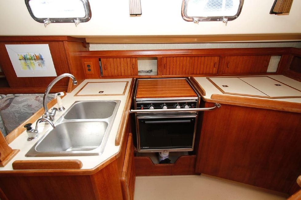 Island Packet 35 Galley