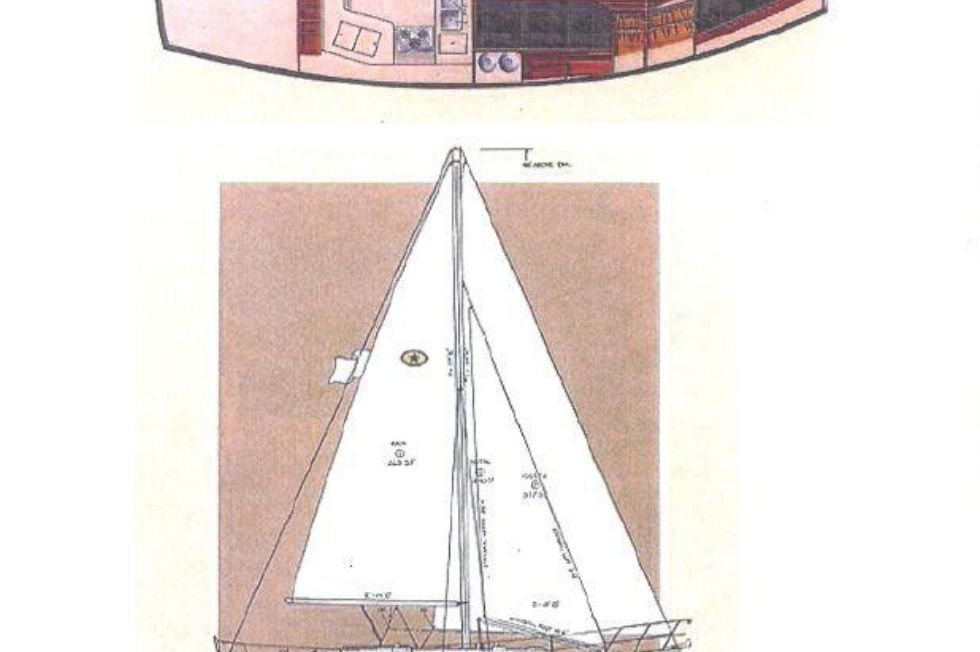 Island Packet 35 layout