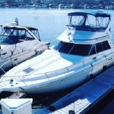 1992 Sea Ray 370 Sedan Bridge