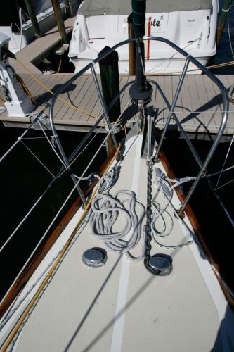 Foredeck w/Roller Furling, CQR, Chain, Rode