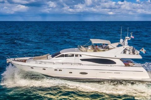 2003 Ferretti Yachts 730 - ONLY ONE IN THE USA!